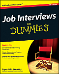 Job Interviews For Dummies 4th Edition