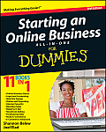 Starting an Online Business All-In-One for Dummies (For Dummies) Cover