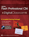 Adobe Flash Professional CS6 Digital Classroom [With DVD] (Digital Classroom) Cover