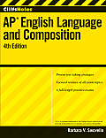 CliffsNotes AP English Language and Composition [With CDROM] (Cliffs AP) Cover