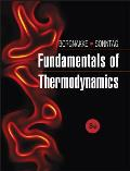 Fundamentals of Thermodynamics (8TH 13 Edition)