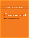 Professional Chef Study Guide