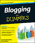 Blogging For Dummies 4th Edition