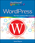 Teach Yourself Visually Wordpress Cover