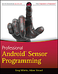 Professional Android Sensor Programming Cover