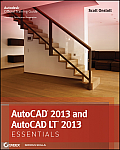 AutoCAD 2013 and AutoCAD LT 2013 Essentials Cover