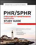 PHR SPHR Professional in Human Resources Certification Study Guide 4th Edition