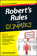 Robert's Rules for Dummies (For Dummies)