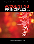 Accounting Principles, Part 3 (Canadian Edition) (6TH 13 Edition)