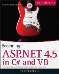 Beginning ASP.NET 4.5 in C# & VB