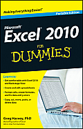Excel 2010 for Dummies Cover