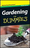 Gardening for Dummies Pocket Ed