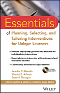 Essentials Of Planning Selecting & Tailoring Interventions For Unique Learners