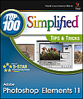 Top 100 Simplified Tips & Tricks #41: Photoshop Elements 11 Top 100 Simplified Tips & Tricks Cover