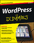 Wordpress for Dummies (For Dummies) Cover