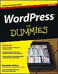 WordPress For Dummies 5th Edition