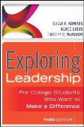 Exploring Leadership For College Students Who Want to Make a Difference