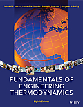 Fundamentals of Engineering Thermodynamics (8TH 14 Edition)