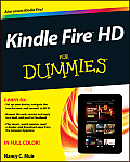 Kindle Fire HD for Dummies Cover