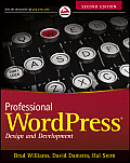 Professional WordPress 2nd Edition Design & Development