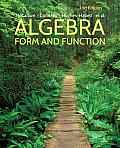 Algebra Form & Function