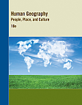 Human Geography: Western District (Loose) (12 Edition)