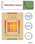 Elementary Linear Algebra Applications Version 11e Binder Ready Version