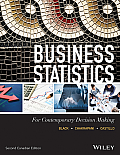 Business Statistics (Canadian) (2ND 14 Edition)