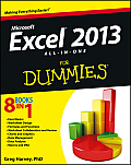 Excel 2013 All-In-One for Dummies (For Dummies)