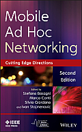 IEEE Series on Digital & Mobile Communication #35: Mobile Ad Hoc Networking: The Cutting Edge Directions Cover