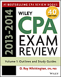 Wiley CPA Examination Review 2013 2014 Outlines & Study Guides