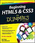 Beginning HTML5 & CSS3 For Dummies