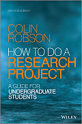 How To Do A Research Project A Guide For Undergraduate Students