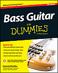 Bass Guitar for Dummies: Book + Online Video & Audio Instruction