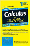 1,001 Calculus Practice Problems for Dummies Access Code Card (1-Year Subscription)
