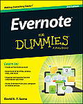 Evernote For Dummies 2nd Edition