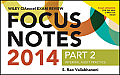 Wiley Ciaexcel Exam Review 2014 Focus Notes: Part 2, Internal Audit Practice (Wiley CIA Exam Review)