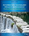 Information Technology Project Management With Cdrom