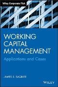 Working Capital Management Applications & Case Studies