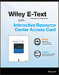 Architecture: Form, Space, and Order, 4e Wiley E-Text Card and Interactive Resource Center Access Card