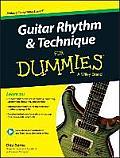 Guitar Rhythm & Technique For Dummies Book + Online Video & Audio Instruction