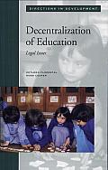Decentralization of Education: Legal Issues