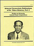 Selected Pyrotechnic Publications of Dr. Takeo Shimizu Part 3: Studies on Fireworks Colored Flame Compositions