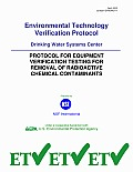 Protocol for Equipment Verification Testing for Removal of Radioactive Chemical Contaminants