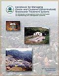 Handbook for Managing Onsite and Clustered (Decentralized) Wastewater Treatment Systems an Introduction to Management Tools and Information for Implementing EPA's Management Guidelines
