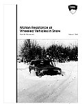 Motion Resistance of Wheeled Vehicles in Snow