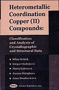 Heterometallic Coordination Copper (Ii) Compounds: Classification and Analysis of Crystallographic and Structural Data