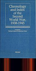 Chronology and Index of the Second World War, 1938-1945