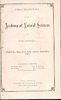 Proceedings of the Academy of Natural Sciences (Part II -- May, June, July, Aug., Sept., 1875)
