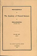 Proceedings of the Academy of Natural Sciences (Vol. XCIV, 1942)